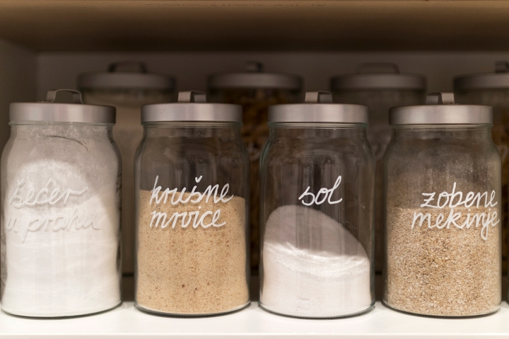 pantry organization | kitchen organization | jar labels | jar tags | organization containers